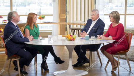 Nick Ferrari and Alison Phillips with Eamonn Holmes and Ruth Langsford