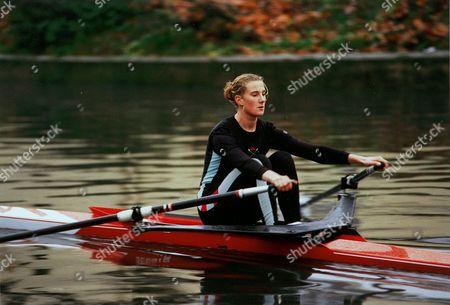 CAMBRIDGE ALL-ROUNDER Sarah Winckless rowing