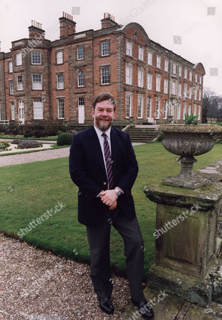 Editorial picture of Earl of Bradford 7th Earl at home in Weston Park