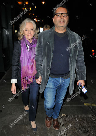 Stock Picture of Hayley Mills and Firdous Bamji
