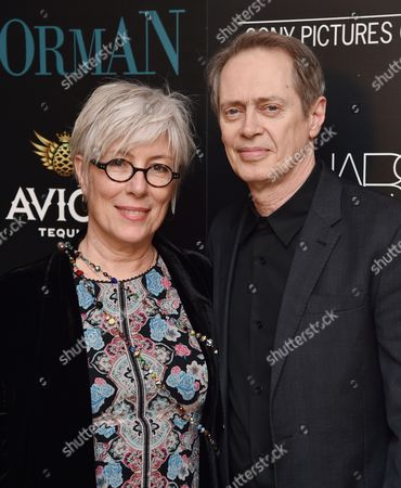Stock Picture of Jo Andres and Steve Buscemi