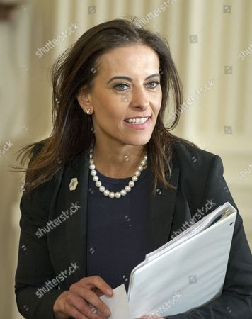 Dina Powell, Deputy National Security Advisor for Strategy arrives