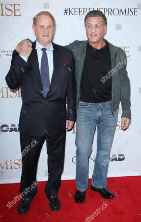 Michael Medavoy and Sylvester Stallone