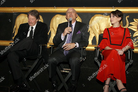 Jim Kreutzer, Keith Bank, Ophelia Lovibond