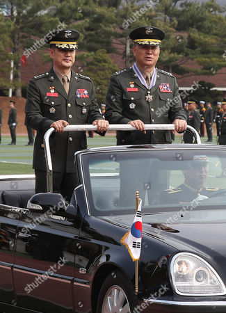Editorial photo of New Marine Corps chief in South Korea, Hwaseong - 13 Apr 2017