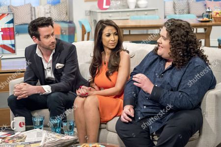 Jamie Raven, Francine Lewis and Jonathan Antoine