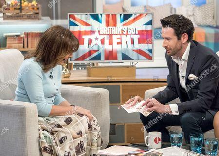Editorial photo of 'Lorraine' TV show, London, UK - 13 Apr 2017