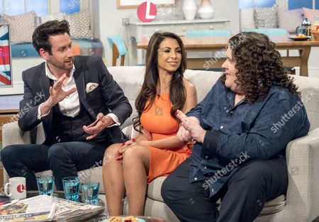 Editorial image of 'Lorraine' TV show, London, UK - 13 Apr 2017