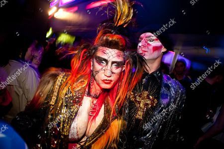 Act Art 7, Hidden, London, Martin Degville, Sigue Sigue Sputnik, UK, art, gay, gay night, nightlife, performance, show