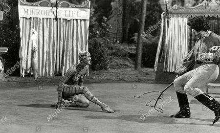 Stock Photo of Serena, Milovan Vesnitch 'Vampire Circus'  Film - 1972 -