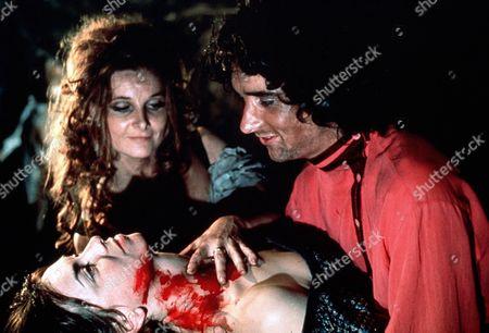 Adrienne Corri, Anthony Higgins, Elizabeth Seal 'Vampire Circus' Film - 1972 -