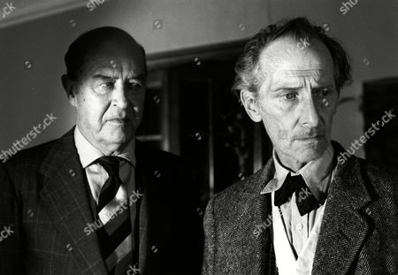 Stock Photo of 'The Uncanny'  Film - 1977 -    Ray Milland, Peter Cushing.