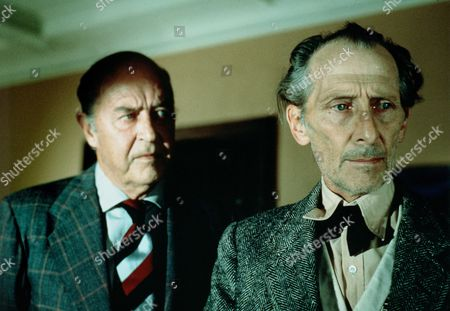 Stock Image of 'The Uncanny'  Film - 1977 -    Ray Milland, Peter Cushing.