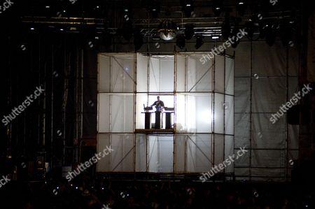 Editorial image of Etienne De Crecy, Summercase, Parc del Forum, Barcelona, Spain, 18/07/2008