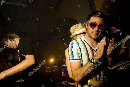 Stock Image of Andy Cato, DJ, Groove Armada, Lovebox Weekender After Party, The End, Tom Findlay, electronica, house, trip hop