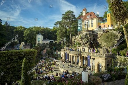 Editorial picture of Sam Lee, Festival No 6, Portmeirion, Wales, UK, 06/09/2014