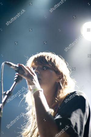 Editorial picture of The Raveonettes, Summercase, Parc del Forum, Barcelona, Spain, 19/07/2008