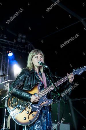 Derbyshire, Festival, Frances McKee, Indie, Indietracks, Midland Railway, The Vaselines, alternative, eighties, main stage, music, music festival, outdoor stage, pop, rock, scottish, summer