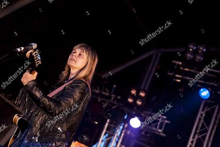 Derbyshire, Festival, Frances McKee, Indie, Indietracks, Midland Railway, Pop, The Vaselines, alternative, eighties, main stage, music, music festival, outdoor stage, rock, scottish, summer