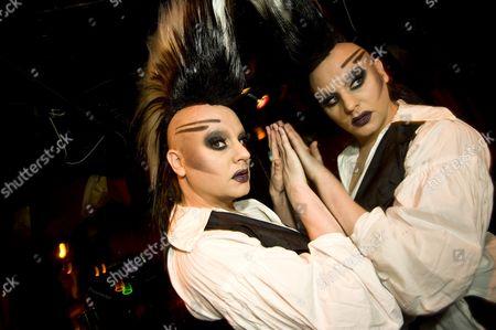 DJ, Gay Scene, Gay party, Madame JoJo's, Tasty Tim, Trannys, Trannyshack, drag queen, drag queens, mirror, nightlife, party, reflection, tranny