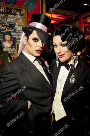 Stock Image of Dusty O, Dusty O Birthday Party, Gay Scene, Gay party, London, Madame Jo Jo's, Tasty Tim, Trannyshack, UK, gay, nightlife