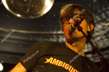Stock Image of Andy Rourke, Mike Joyce, The Luminaire, The Smiths drummer, Vinny Peculiar, singer