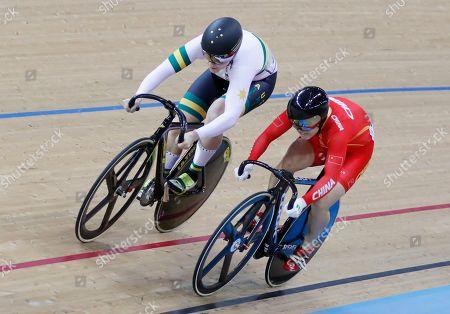 Editorial picture of World Track Cycling championships, Hong Kong, Hong Kong - 13 Apr 2017