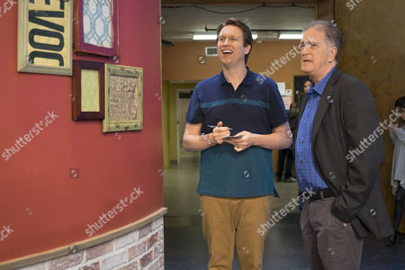 Stock Photo of Pete Holmes, Allan Havey