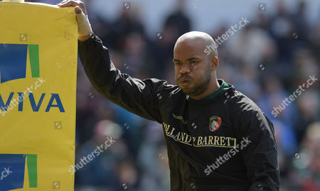 Leicester's JP Pietersen - Rugby Union - Leicester Tigers V Newcastle Falcons - Aviva Premiership - 15/04/17 - at Welford Road Leicester UK. Photo Credit - Tom Dwyer/Seconds Left Images