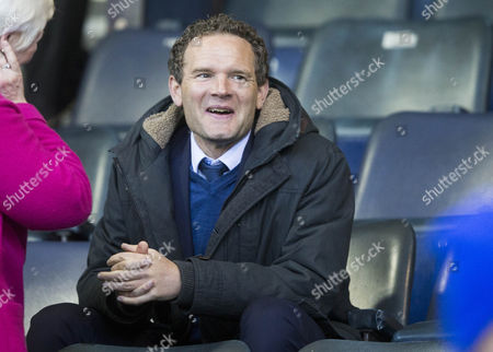 14/04/17... RUGBY PARK  - KILMARNOCK KILMARNOCK V HEARTS Jonatan Johansson Rangers assistant boss