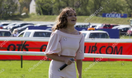 Stock Photo of 22/04/17... SCOTTISH GRAND NATIONAL. AYR RACE COURSE - AYR  Emily Middlemas