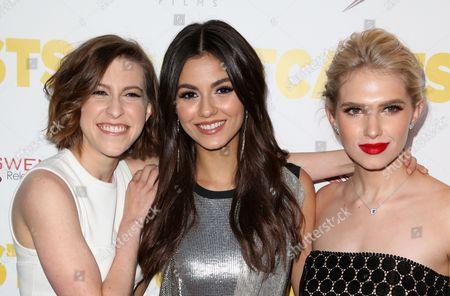 Eden Sher, Victoria Justice, Claudia Lee