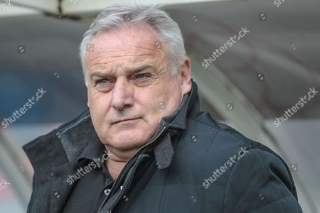 Dave Jones (Manager) (Hartlepool United) during the EFL Sky Bet League 2 match between Hartlepool United and Carlisle United at Victoria Park, Hartlepool