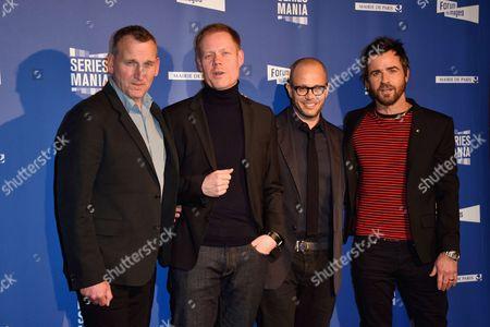 Christopher Eccleston, Max Richter, Damon Lindelof and Justin Theroux