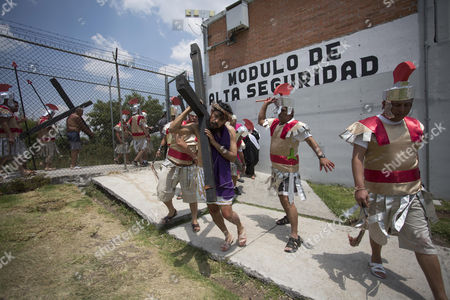 Editorial photo of Good Friday celebration in Morelia, Mexico - 14 Apr 2017