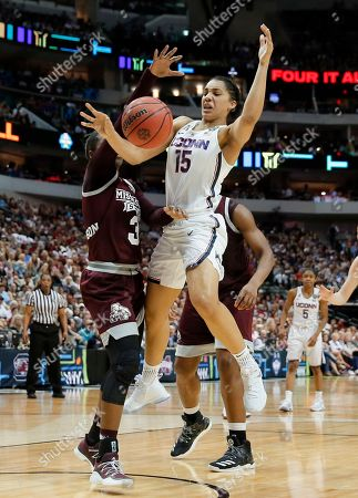 Editorial picture of NCAA Mississippi St UConn Womens Final Four Basketball, Dallas, USA - 31 Mar 2017