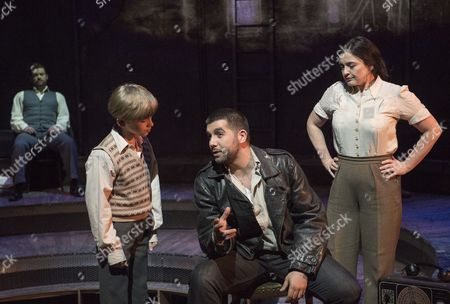 Editorial image of 'Whisper House' Musical performed at the The Other Palace Theatre, London, UK, 14 Apr 2017