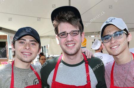 Ryan Ochoa, Brandon Tyler Russell, Robert Ochoa