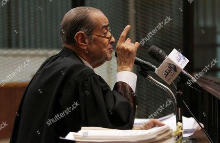 Editorial photo of Stock Market Manipulation court case, Cairo, Egypt - 15 Apr 2017