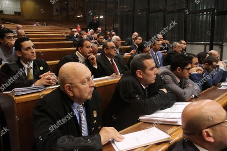 Editorial picture of Stock Market Manipulation court case, Cairo, Egypt - 15 Apr 2017