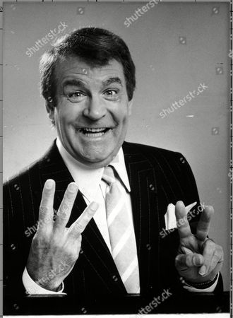 COMEDIAN AND TELEVISION PRESENTER TED ROGERS