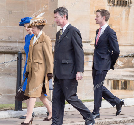 Anne, Princess Royal and Vice Admiral Timothy Laurence