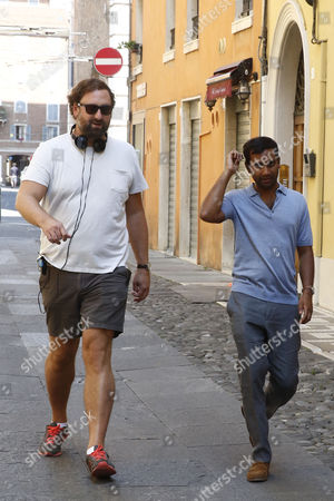 Eric Wareheim and Aziz Ansari