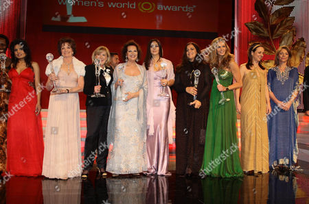 Esther Mujawayo - Kiner, Sabatina James, Marilyn Carlson Nelson, Marianne Faithfull, Claudia Cardinale, Monica Bellucci, Angela Missoni, Elle Macpherson, Vera Russwurm,  Alfons Haider, Queen Noor
