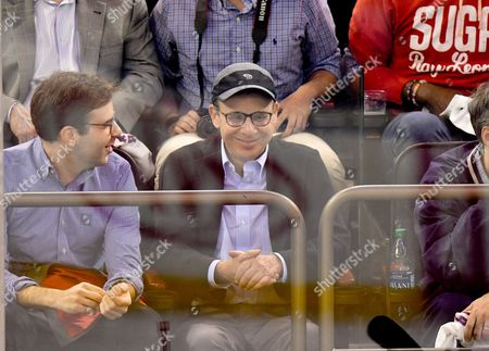 Editorial picture of Celebrities at Montreal Canadiens v New York Rangers, NHL ice hockey match, Madison Square Garden, New York, USA - 16 Apr 2017