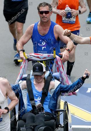Editorial photo of Marathon, Boston, USA - 17 Apr 2017