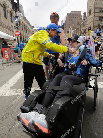 Editorial image of Marathon, Boston, USA - 17 Apr 2017