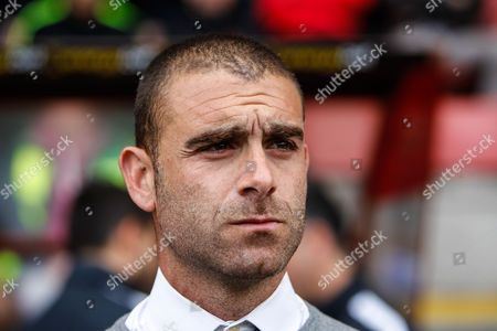 Stock Photo of Leyton Orient manager Omer Riza during the EFL Sky Bet League 2 match between Leyton Orient and Hartlepool United at the Matchroom Stadium, London