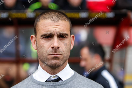 Leyton Orient manager Omer Riza during the EFL Sky Bet League 2 match between Leyton Orient and Hartlepool United at the Matchroom Stadium, London