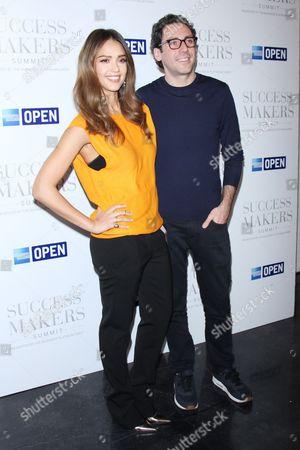 Jessica Alba and Neil Blumenthal
